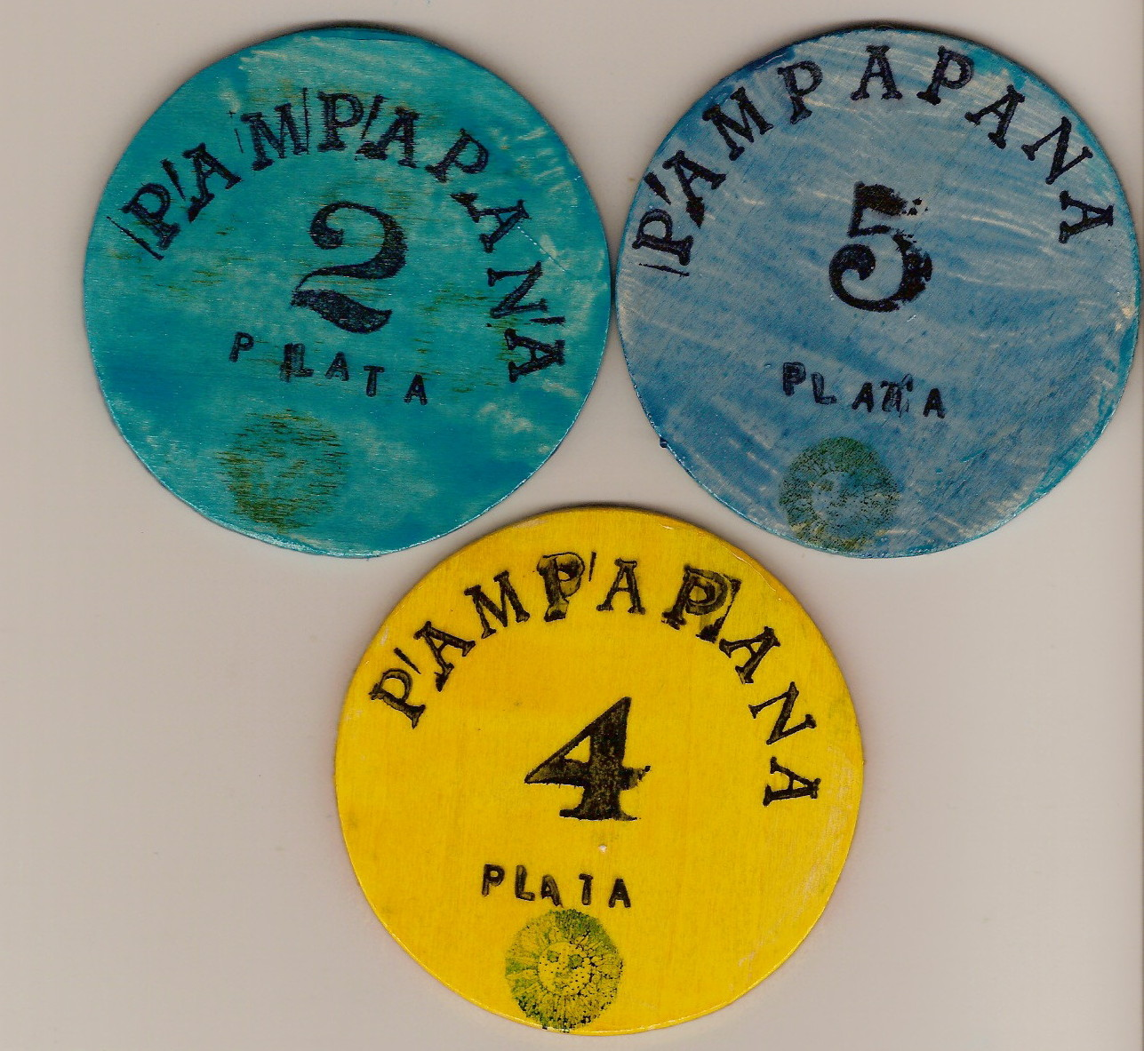 Pampapana Wood 2, 4 and 5 Plata