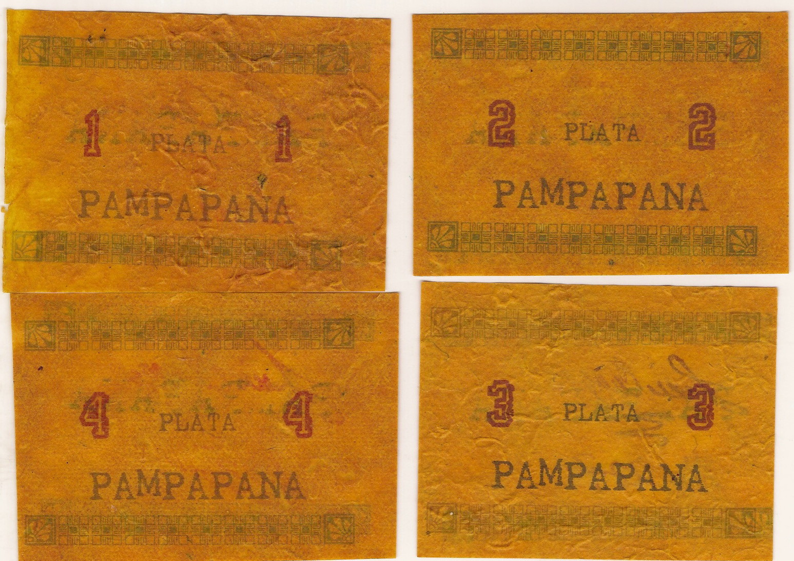 PAMPAPANA OIL PAPER Regular Series